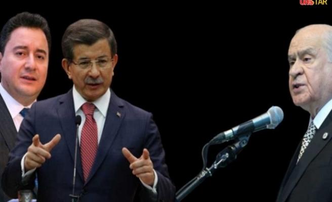 Bahçeli, Babacan ve Davutoğlu'na çağrıda bulundu