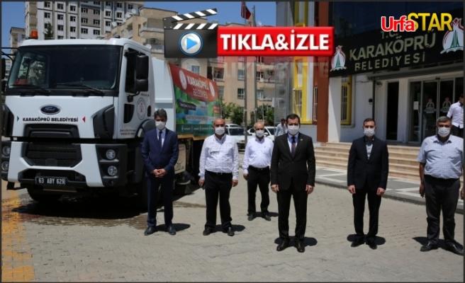 Bakanlık'tan Karaköprü'ye araç desteği...