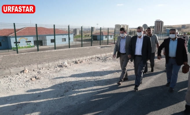 Beyazgül ile Urfa'nın yol ağı genişliyor