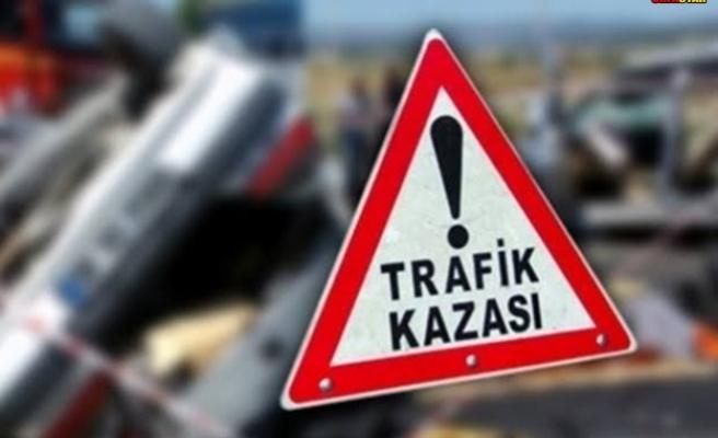 Halfeti'de trafik kazası...