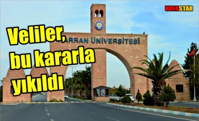 Harran Üniversitesi'nden tepki çeken karar...