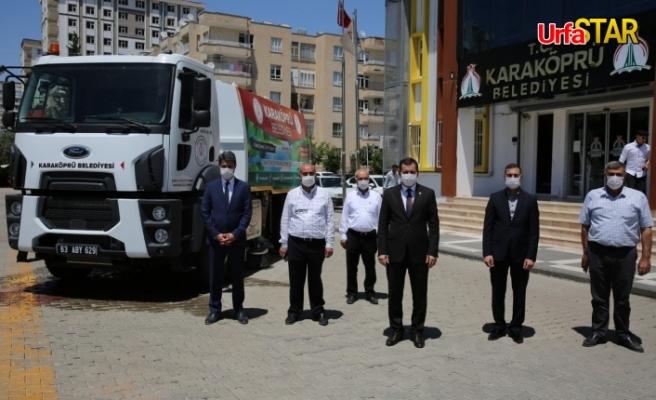 Karaköprü Belediyesi araç filosunu güçlendirdi