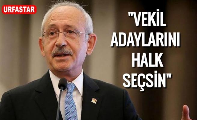 Kılıçdaroğlu'ndan flaş seçim önerisi...