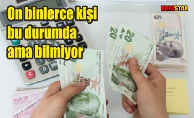 SGK'dan o parayı hemen alın!