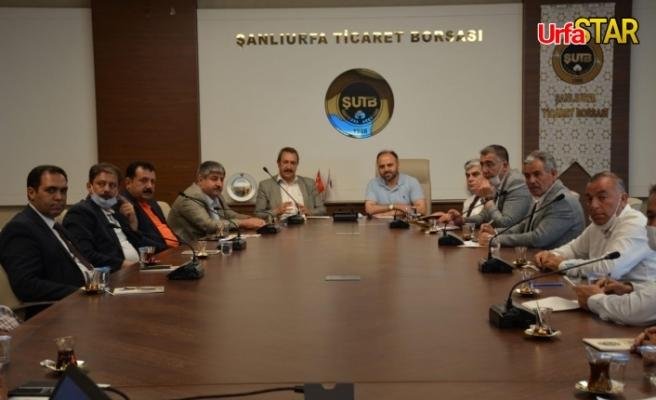 Urfa, toplantıya ev sahipliği yaptı