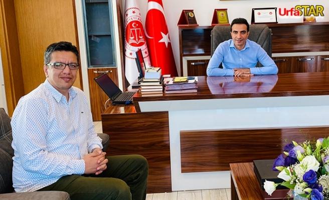 Albayrak, Urfalı Başsavcı Özkan'ı ziyaret etti