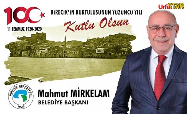 """Başkan Mirkelam: """"Gururluyuz"""""""
