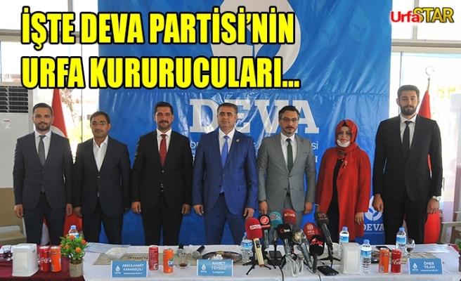 DEVA Partisi İl kurucularına belgeleri verildi