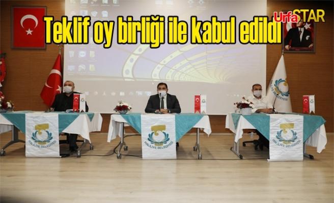 Haliliye Meclisi toplandı...