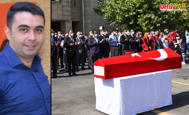Urfa'da cumhuriyet savcısı için tören düzenlendi