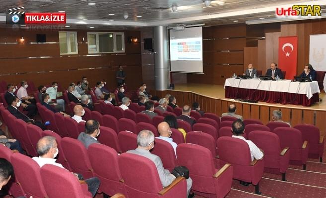 Urfa'daki yatırımlar değerlendirildi...