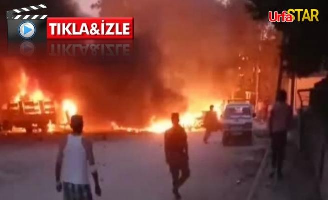 Urfa sınırında patlama: 6 ölü