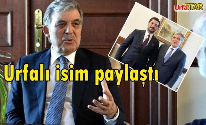 Gül'ün eski AK Partili ile pozu gündem oldu