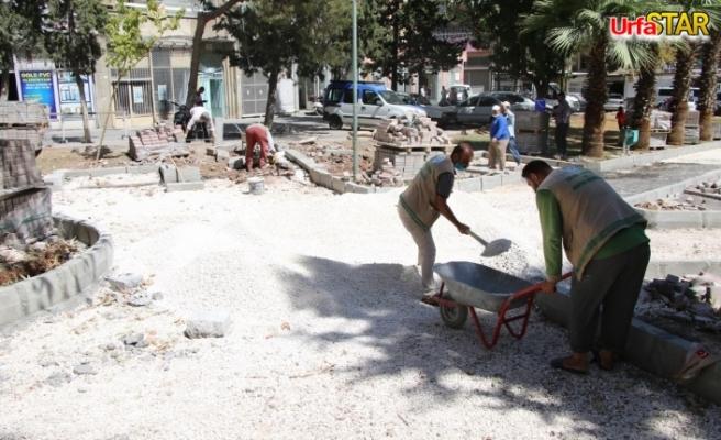 Haliliye'de çalışmalar devam ediyor