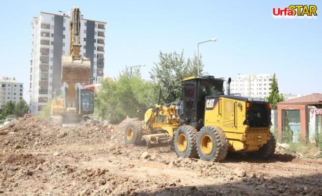 Karaköprü Belediyesi yol yapım çalışmalarını sürdürüyor