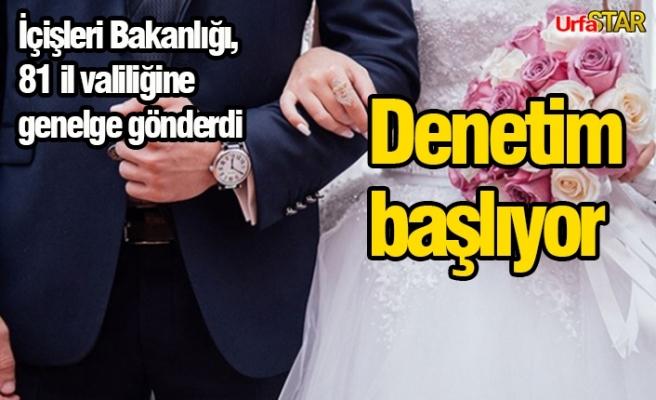 Nişan ve düğünlerle ilgili yeni genelge yayınlandı