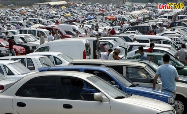 Urfa'da açık oto pazarı kuruluyor