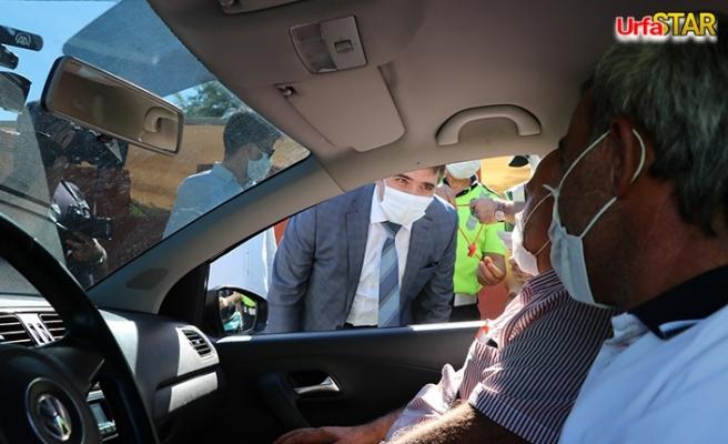 Vali Vekili Esen trafik tedbirlerini denetledi