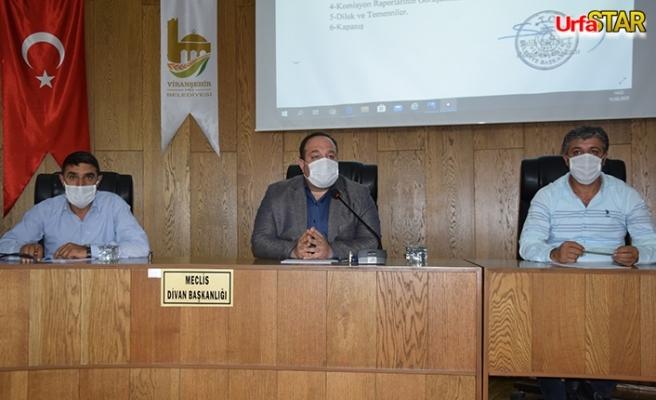 Viranşehir'de ağustos ayı meclis toplantısı yapıldı