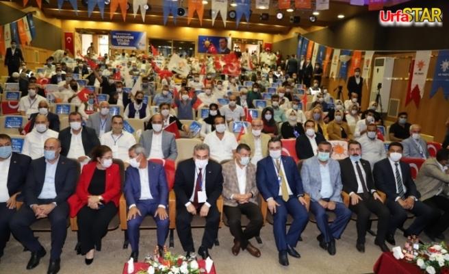 İşte AK Parti Karaköprü'nün yeni yönetimi...