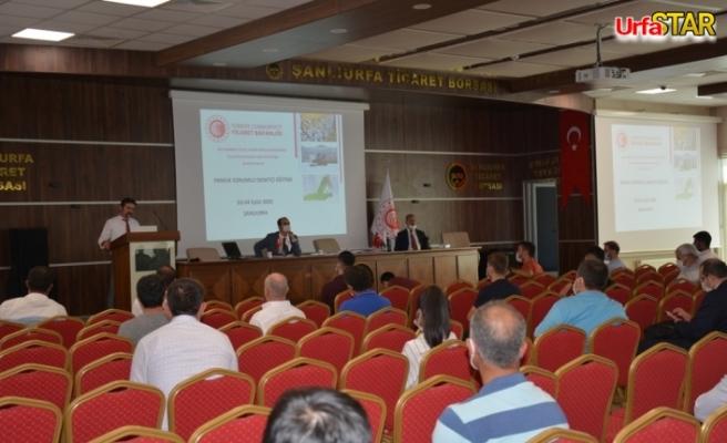 Urfa Borsasında PSD sınavı yapıldı