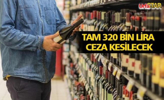 Alkol satışına uymayana ceza