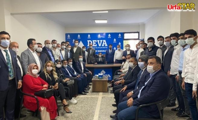 DEVA Partisi Suruç kongresi yapıldı