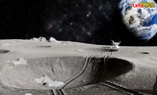 Flaş! Ay'da bulundu...