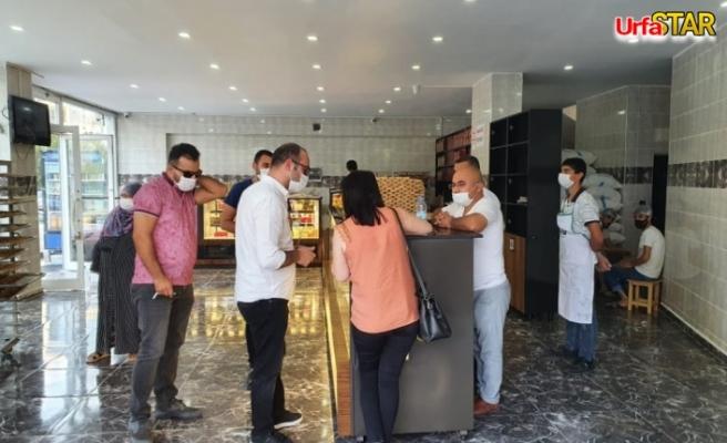Urfa'da denetimler sürüyor