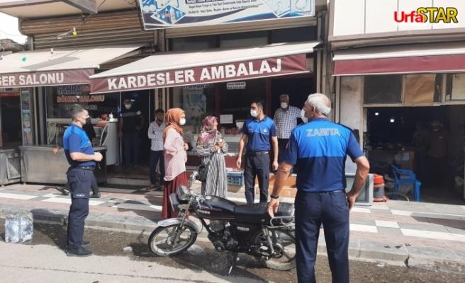 Viranşehir'de dilenciler toplandı