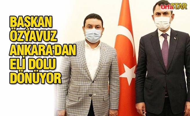 Başkan Özyavuz'dan müjdeli haber