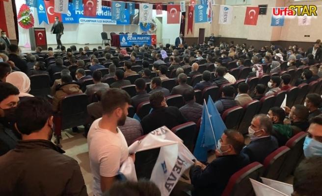 Deva Partisi Ceylanpınar'da kongre heyecanı yaşadı