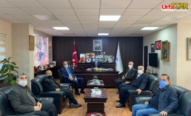 Urfa Vekili esnaf temsilcileri ile görüştü