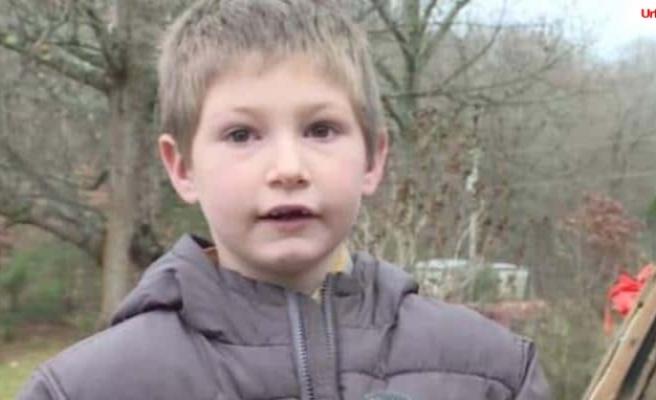 7 yaşındaki çocuk kardeşini kurtardı