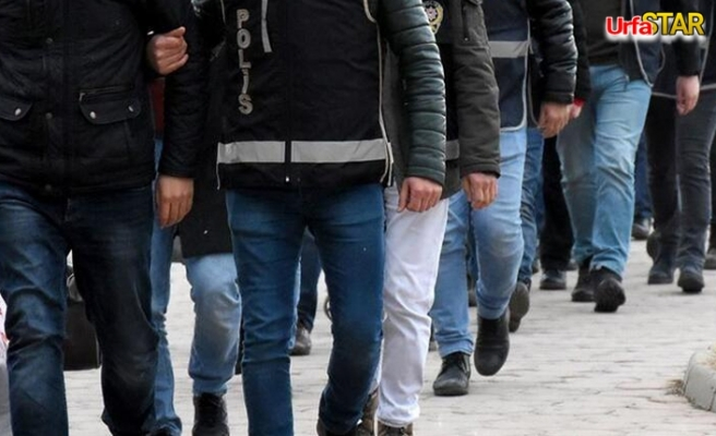 Urfa'da 9 kişi gözaltına alındı
