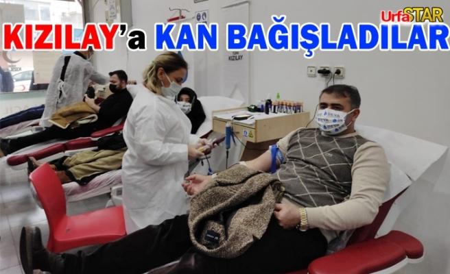 Urfa Deva Partisi toplu bir şekilde kan verdi