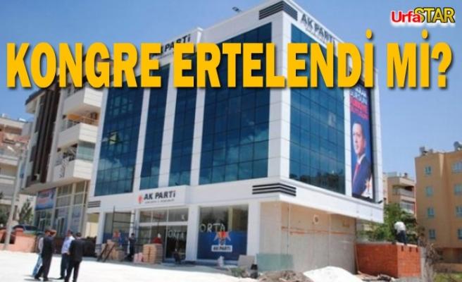 AK Parti Haliliye'de flaş gelişme!