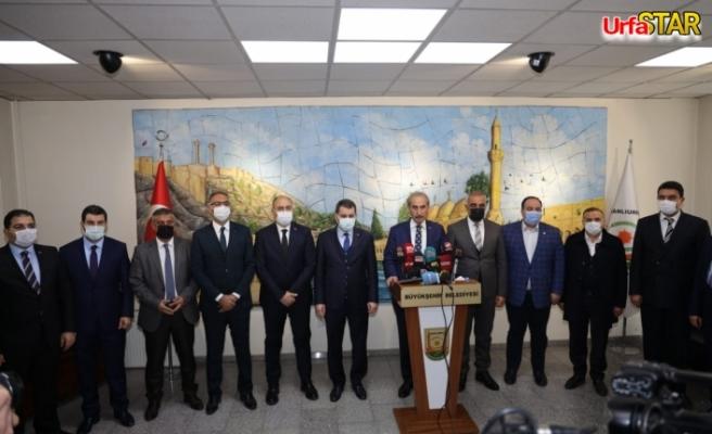 Belediye Başkanları Beyazgül için toplandılar
