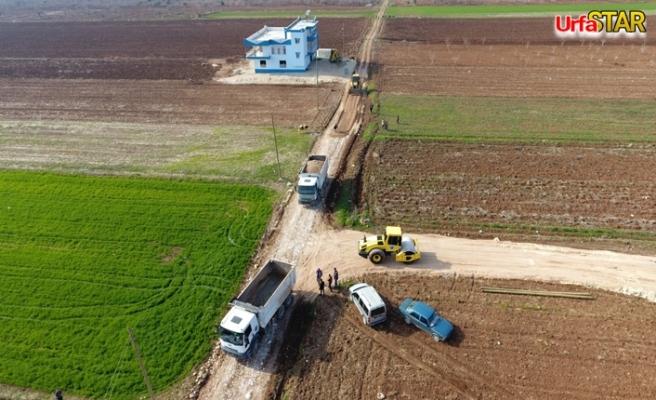 Bozova kırsalında çalışmalar aralıksız sürüyor