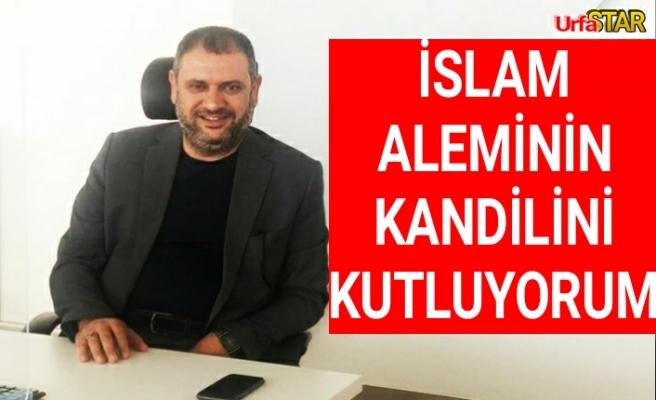 Çayırcıoğlu'ndan kutlama mesajı...