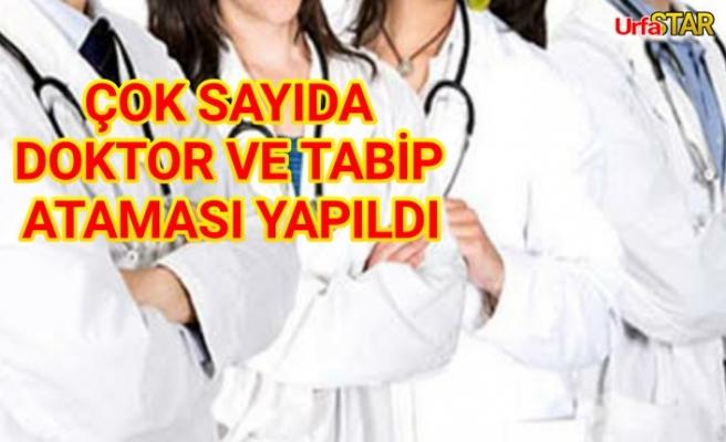 Flaş! Urfa'ya doktor ataması yapıldı