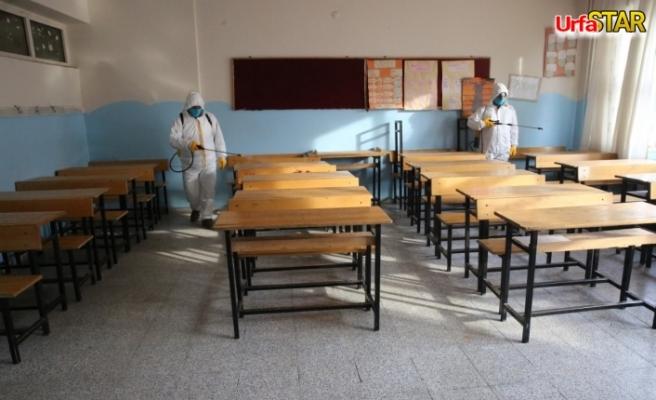 Haliliye Belediyesi kırsa okullarda harekete geçti
