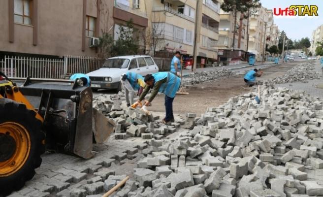 Haliliye'de 5 ayrı mahallede çalışmalar devam ediyor