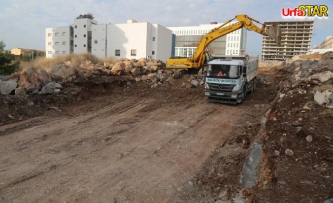 Haliliye'de yeni yollar açılıyor