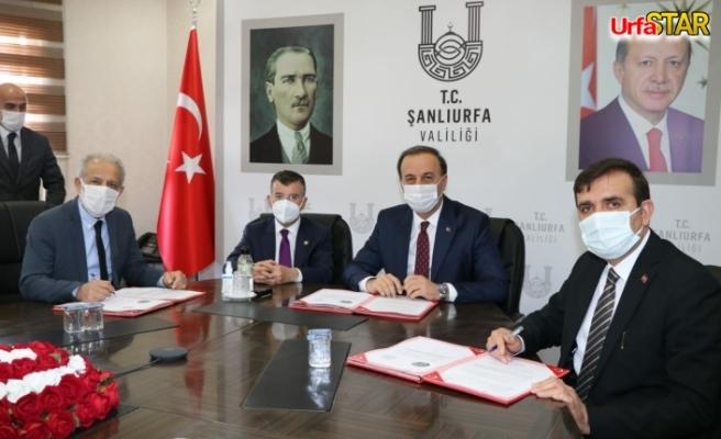 Harran Üniversitesi ile Milli Eğitim protokol imzaladı