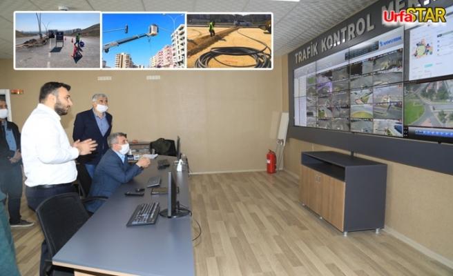 Urfa'da, 20 ayrı noktada sinyali çalışması başlatıldı