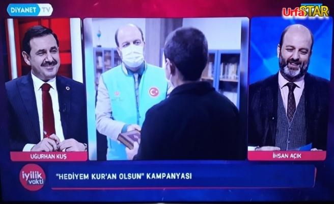 Urfa'da görev yapan iki isim aynı programda buluştu