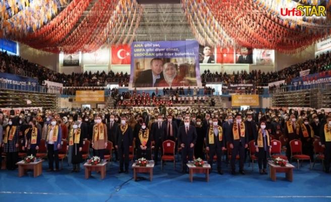 Urfa'da kongre heyecanı başladı
