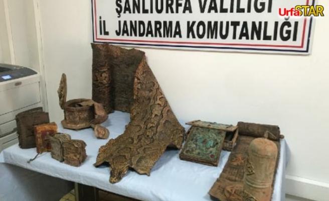 Urfa'da, Orta çağdan kalma yılan bulundu