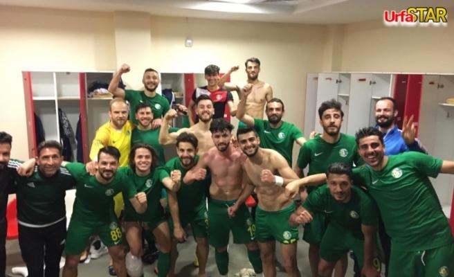 Urfaspor 3 puanı 3 golle aldı...